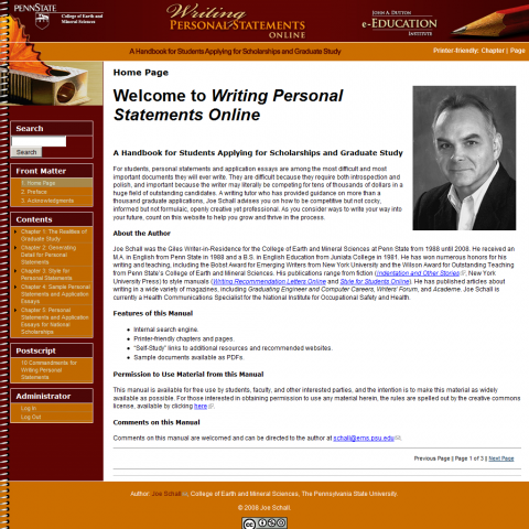 writing personal statements online